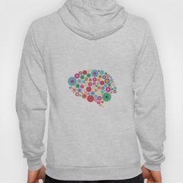 Flower brain Hoody