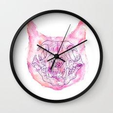 happy skeleton Wall Clock