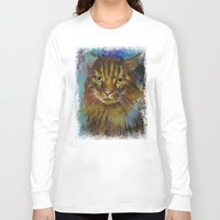 luna Long Sleeve T-shirts featuring Luna by Michael Creese