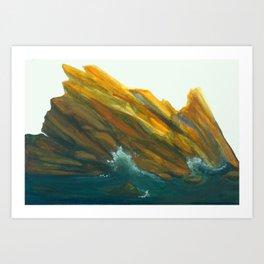 Spanish Seas Art Print