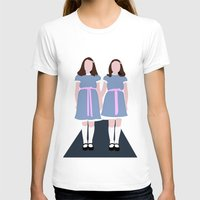 shining T-shirts featuring Shining Twins by Alberto P