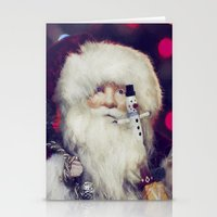 santa Stationery Cards featuring Santa by ThePhotoGuyDarren