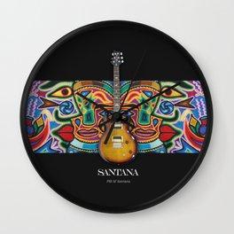Santana Gutiar Wall Clock
