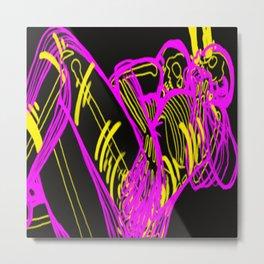 fluorescent dead  Metal Print