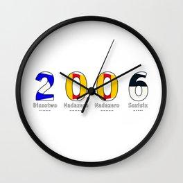 2006 - NAVY - My Year of Birth Wall Clock