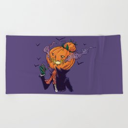 The Pumpkin Bun Beach Towel