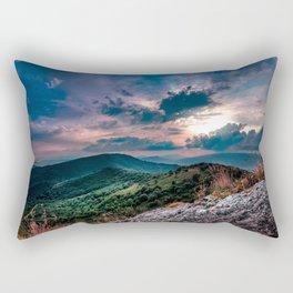relaxing nature Rectangular Pillow