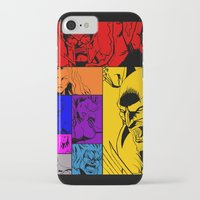 x men iPhone & iPod Cases featuring X-Men by Carrillo Art Studio