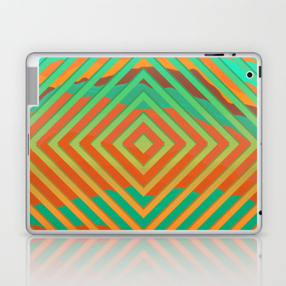 TOPOGRAPHY 2017-021 Laptop & iPad Skin