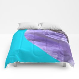 Light Blue Mystical Powers of Amethyst #society6 Comforters