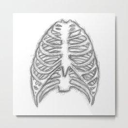 Ribs Metal Print