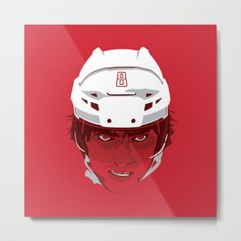 Alex Ovechkin, Superhero Metal Print