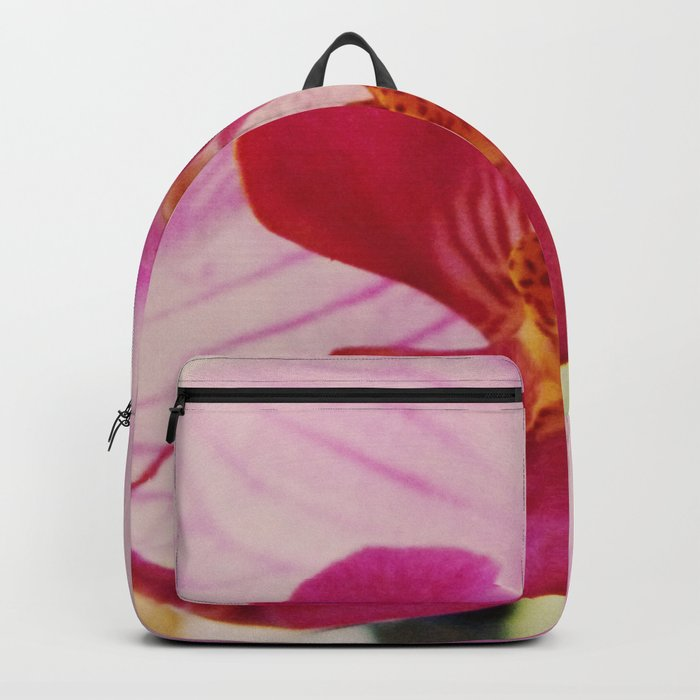 Close up Orchid #3 Backpack