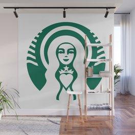 Madre de café Wall Mural