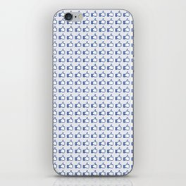 Blue Heroin iPhone Skin