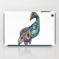 peacock iPad Cases featuring Peacock by SilviaGancheva