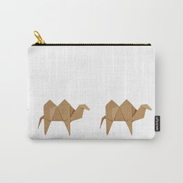 Origami Camel Carry-All Pouch