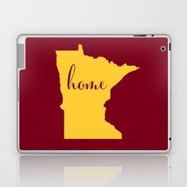Minnesota is Home - Go Golden Gophers! Laptop & iPad Skin