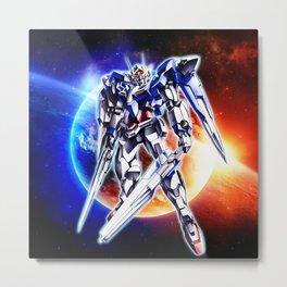 Gundam Wing Metal Print