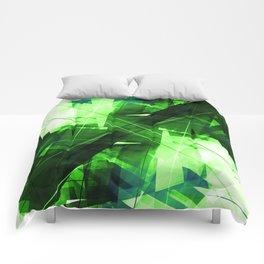 Elemental - Geometric Abstract Art Comforters