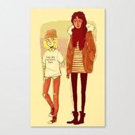 Ymir and Historia Canvas Print