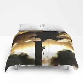 Golden Eagle Sunset Comforters