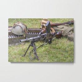 Bren Gun Metal Print