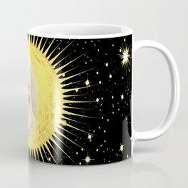 'Imminent Eclipse' Sun Moon & Stars Coffee Mug