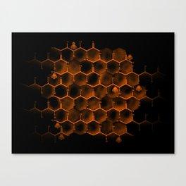 Glucose Hive Canvas Print