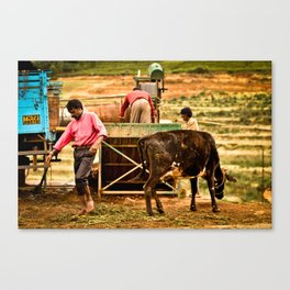 Off Work Canvas Print