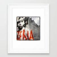 child Framed Art Prints featuring Child by Pierre-Emmanuel Weck