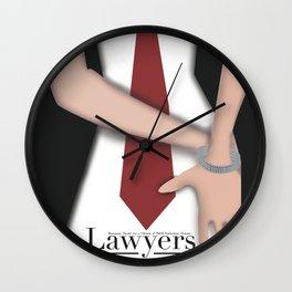 Lawyers & OCD Wall Clock