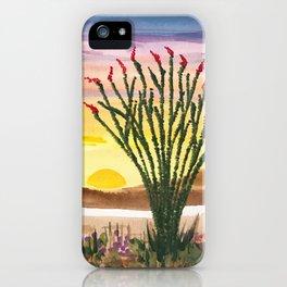 Beautiful Ocotillo 1 iPhone Case