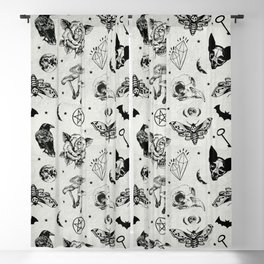 Witch Vibes Blackout Curtain