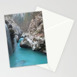 Little Waterfall At Rock Crevice Stationery Cards
