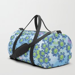 Blue Whimsy Duffle Bag