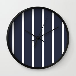 Stripe It Up Wall Clock