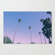 ..And then I moved to Los Angeles Canvas Print