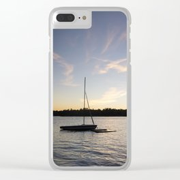 Come Sail Away. Clear iPhone Case