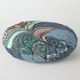 'Jonah and the Whale' Floor Pillow