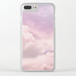 Upon The Clouds Clear iPhone Case