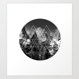 LF logo Art Print