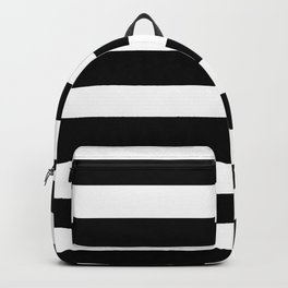 Black & White Stripes- Mix & Match with Simplicity of Life Backpack