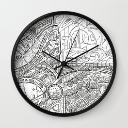 Tower of Jealousy Wall Clock