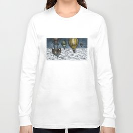 PERIL ABOVE THE CLOUDS! Long Sleeve T-shirt