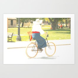 Bike Ride II Art Print