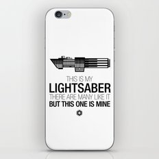 This is my Lightsaber (Vader Version) iPhone Skin