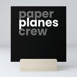 Paperplanes Crew Origami Mini Art Print