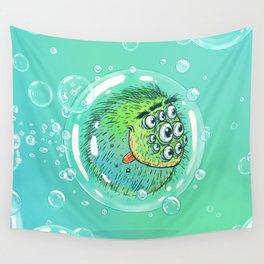 Bacillus B0b on bubble-transport Wall Tapestry