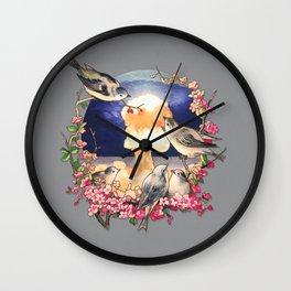Second Sun - colour option Wall Clock